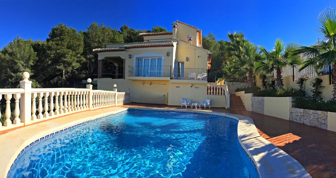 Vakantiehuis of villa in Denia Spanje huren